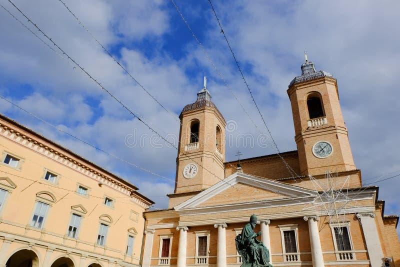 Camerino in Italië stock foto