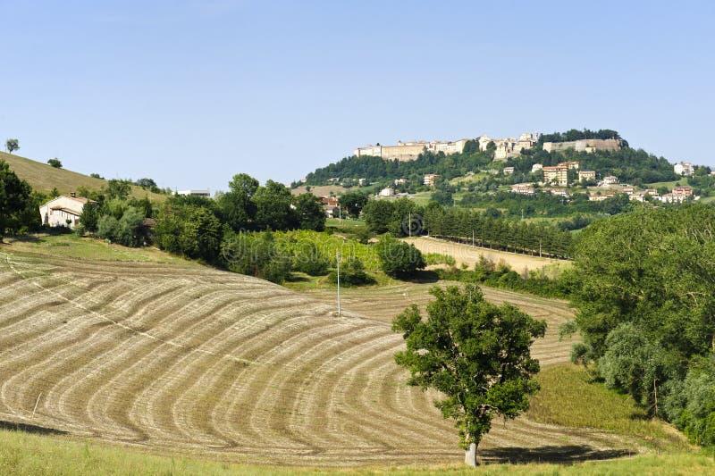 Camerino (Marsen, Italië) stock foto