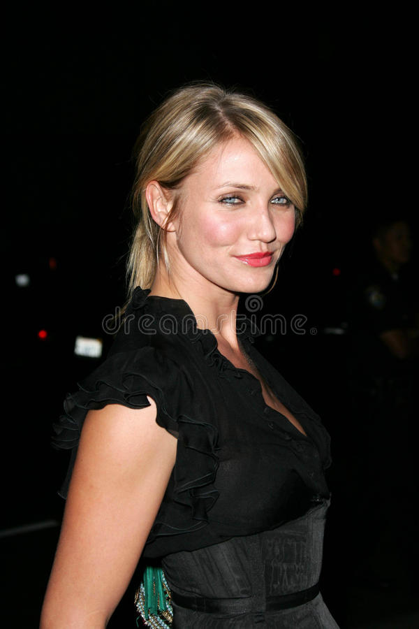 Cameron Diaz. At the premiere of 'In Her Shoes', Samuel Goldwyn Theater, Beverly Hills, CA 09-28-05 royalty free stock photography
