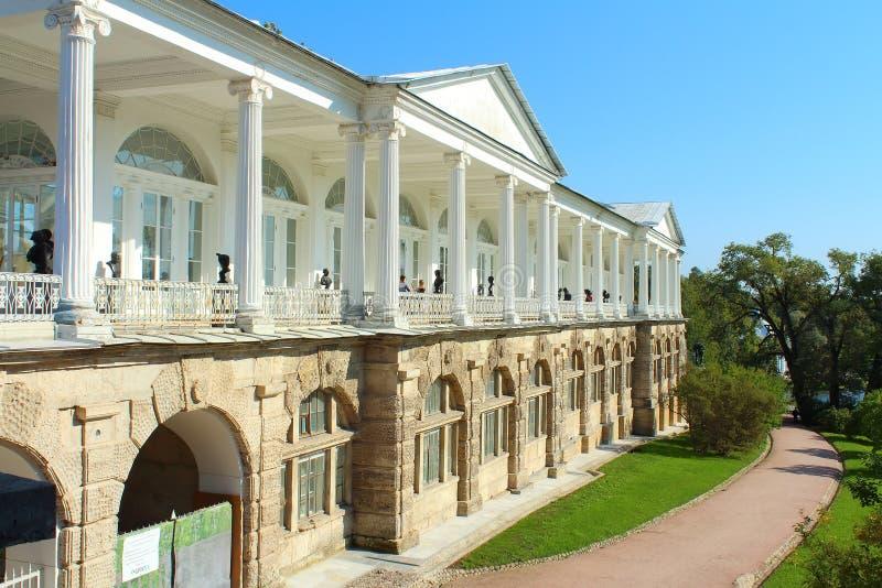 cameron galeria Tsarskoye Selo, święty Petersburg zdjęcie stock