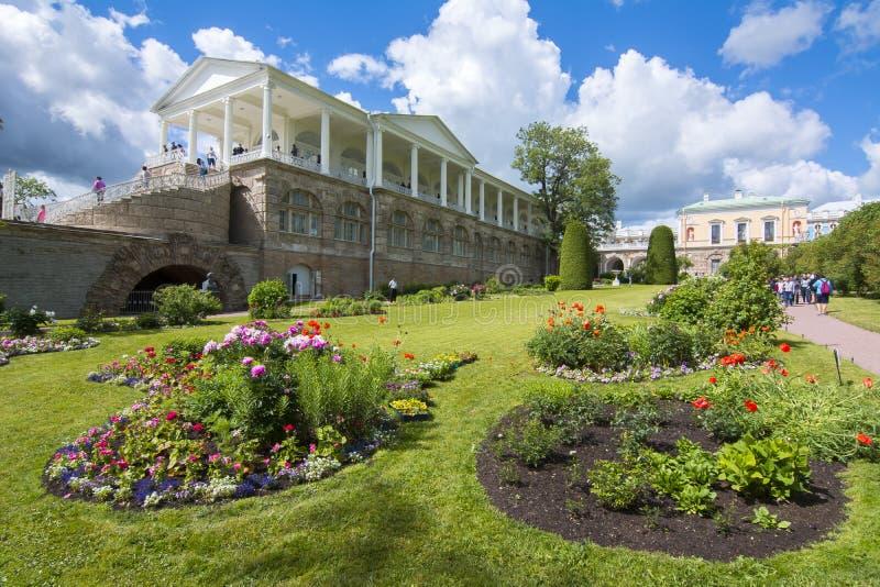 Cameron galeria w Catherine parku, Tsarskoe Selo, St Petersburg, Rosja obrazy royalty free