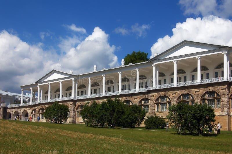 cameron galerii ekaterininskiy s pałacu. obraz royalty free