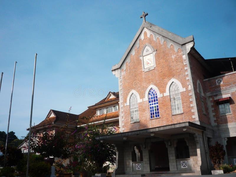 Cameron Highlands 'Christian School arkivbild