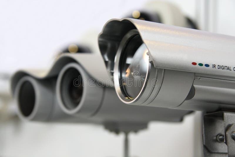 Cames da segurança do CCTV. imagens de stock royalty free