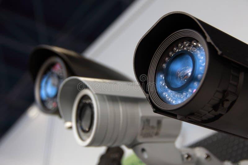 Cames da segurança do CCTV imagem de stock royalty free