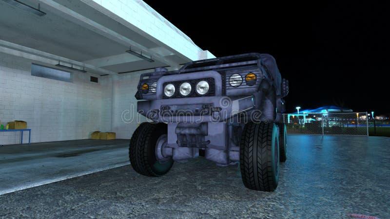 Download Camión stock de ilustración. Ilustración de portador - 64205763