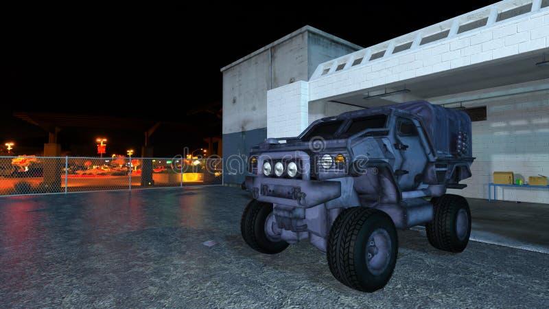 Download Camión stock de ilustración. Ilustración de base, defensa - 64205769