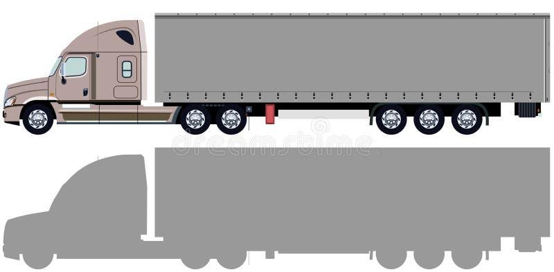 Camión beige libre illustration