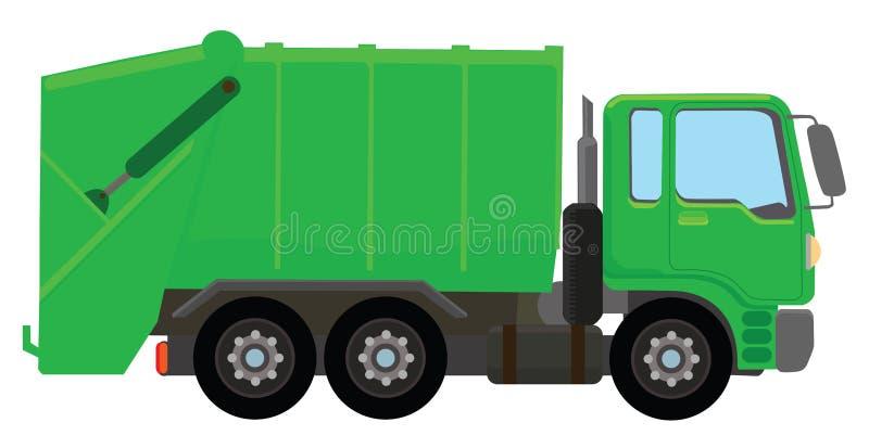 Camión de basura libre illustration
