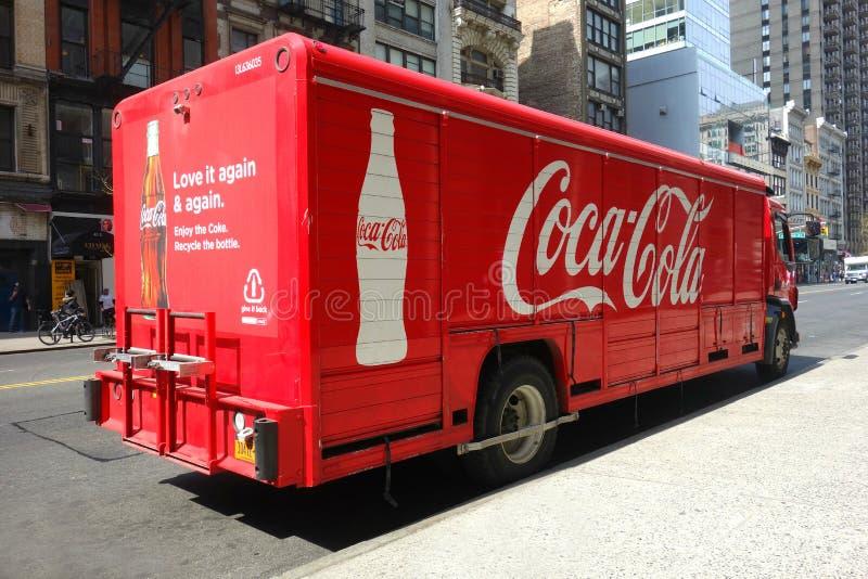 Camión de Coca-Cola imágenes de archivo libres de regalías
