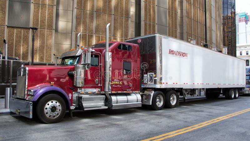 Camión de Kenworth imagen de archivo libre de regalías