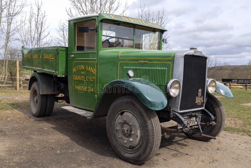 Camión de Layland del vintage - Inglaterra - circa 1920 imagen de archivo libre de regalías