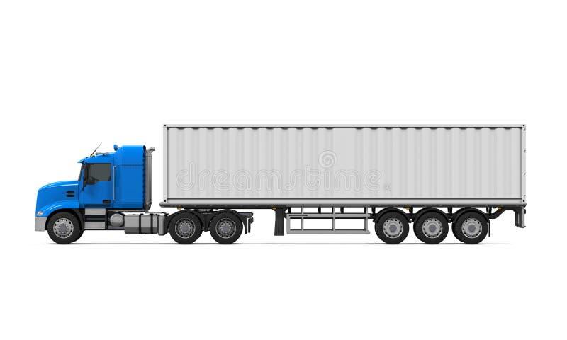 Camión de reparto del cargo stock de ilustración