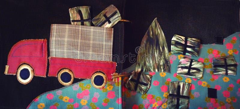 Camión del regalo imagen de archivo libre de regalías