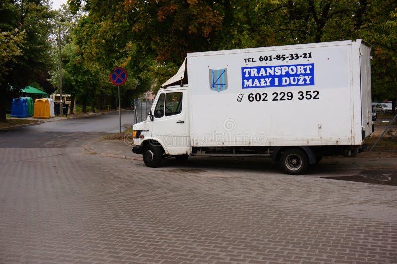 Camión del transporte imagen de archivo libre de regalías