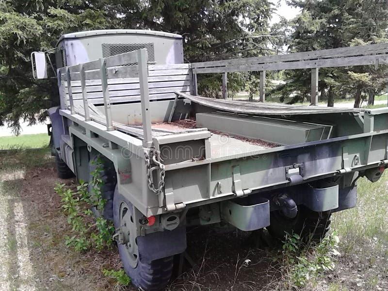 Camión del transporte WW2 imagen de archivo libre de regalías