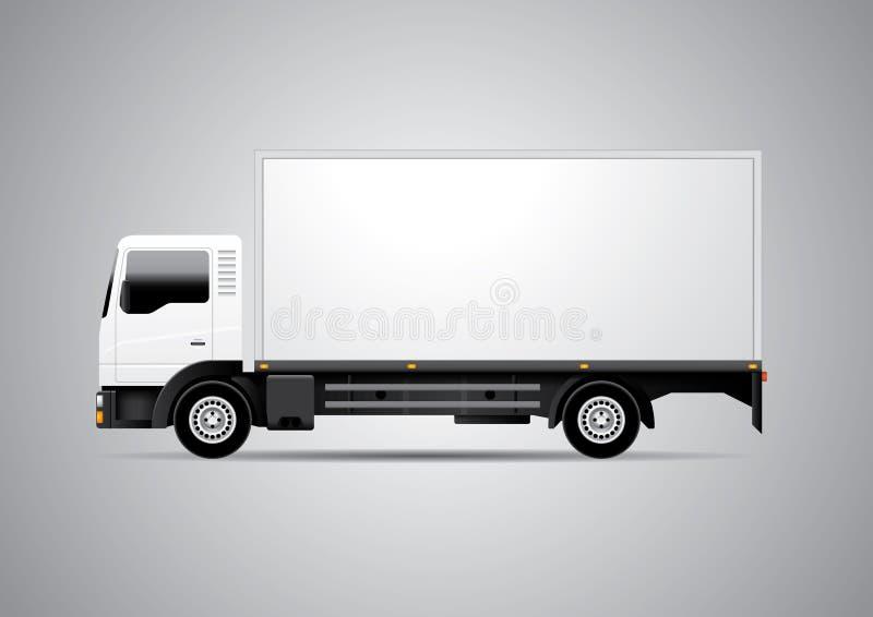Camión - ejemplo del vector ilustración del vector