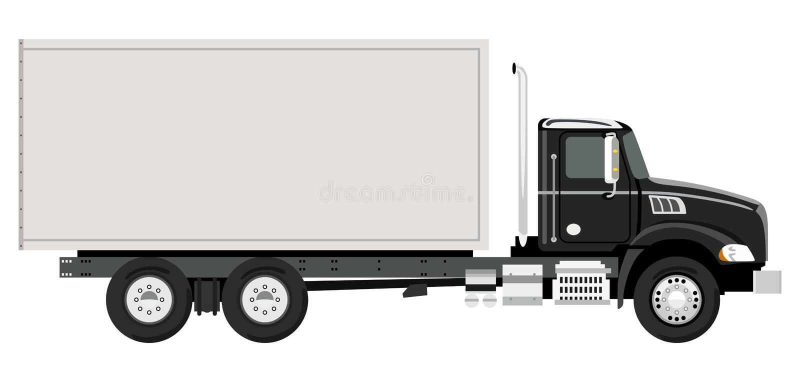 Camión lateral libre illustration