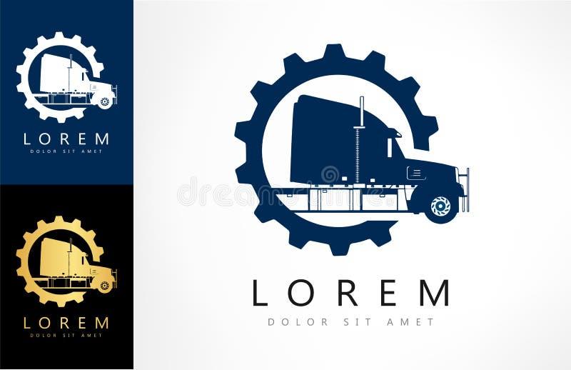 Camión Logo Vector ilustración del vector