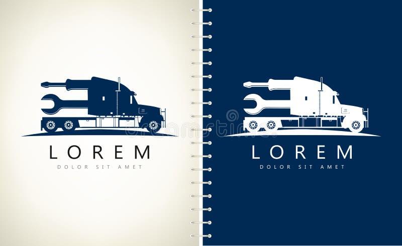 Camión Logo Vector libre illustration