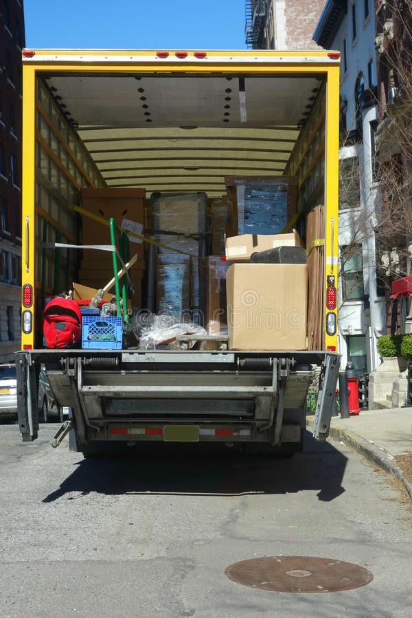 Camión móvil imagen de archivo libre de regalías