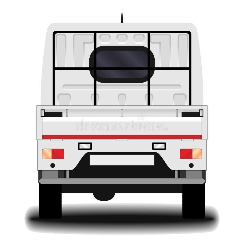 Camión realista Front View libre illustration