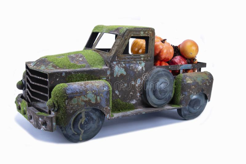 Camión viejo del juguete del vintage foto de archivo