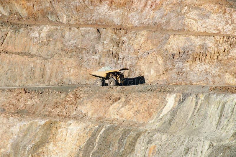 Camión volquete de la explotación minera foto de archivo libre de regalías