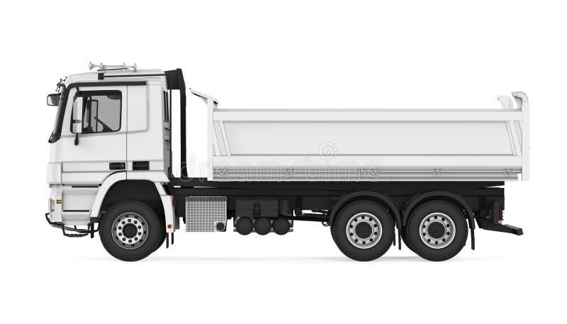 Camión volquete del volquete aislado stock de ilustración