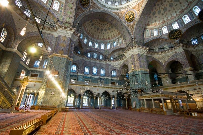 cami Istanbul meczetowy nowy indyczy yeni zdjęcia royalty free