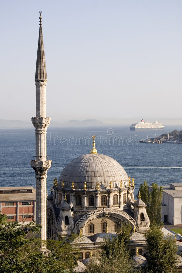 cami Istanbul nusretiye obrazy stock