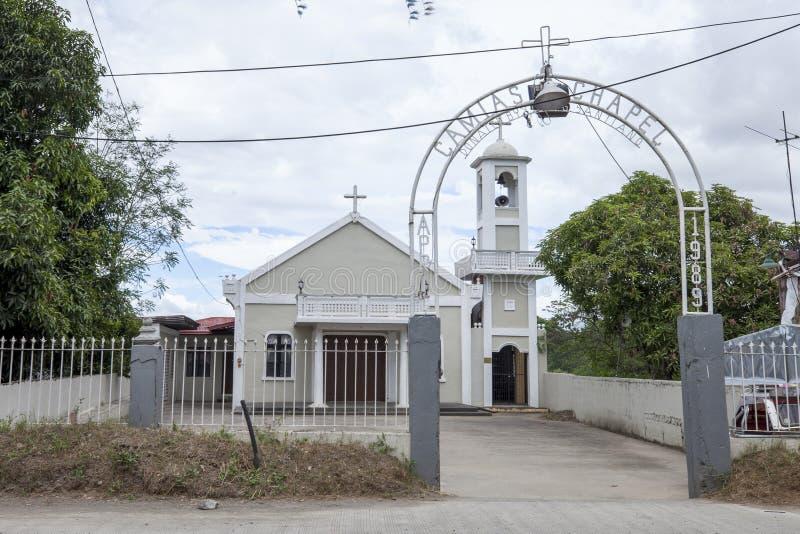 Camias Chapel stockbild