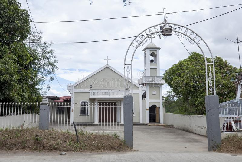 Camias Chapel stock image