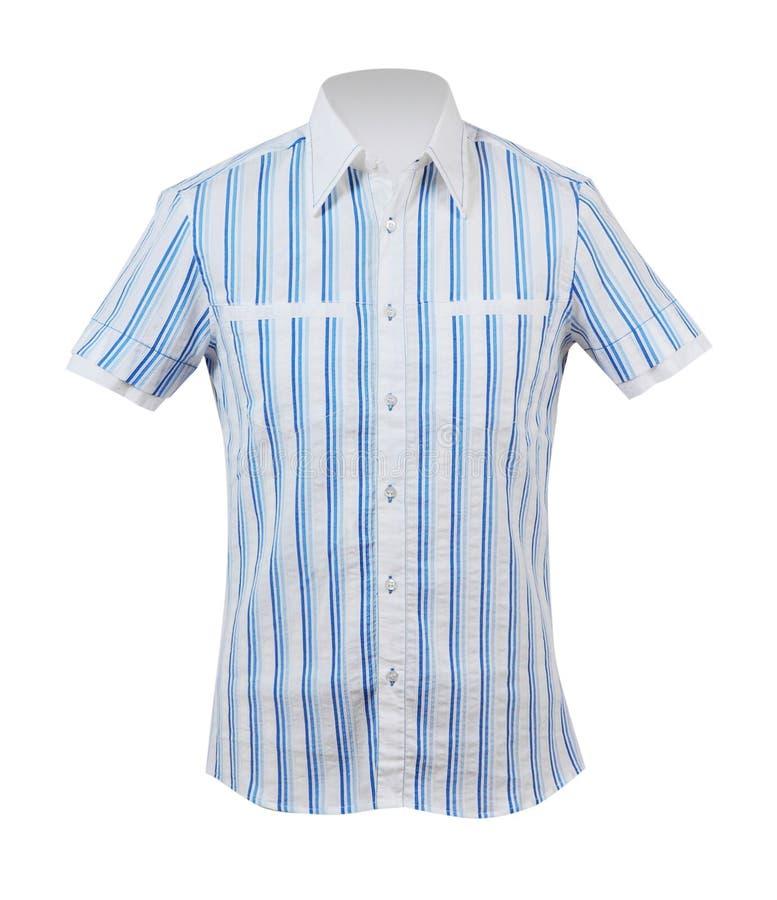 Camicia blu fotografia stock