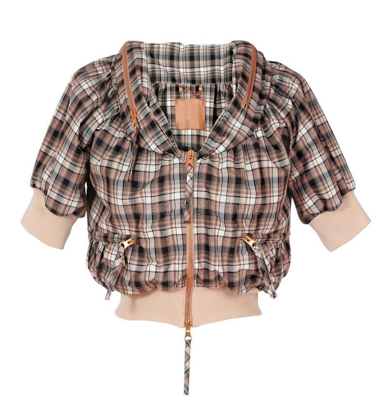 Camicia Checkered fotografie stock