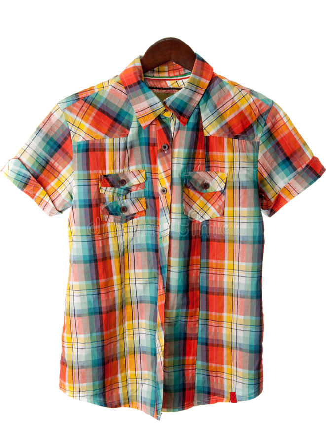 Camicia di plaid immagini stock libere da diritti