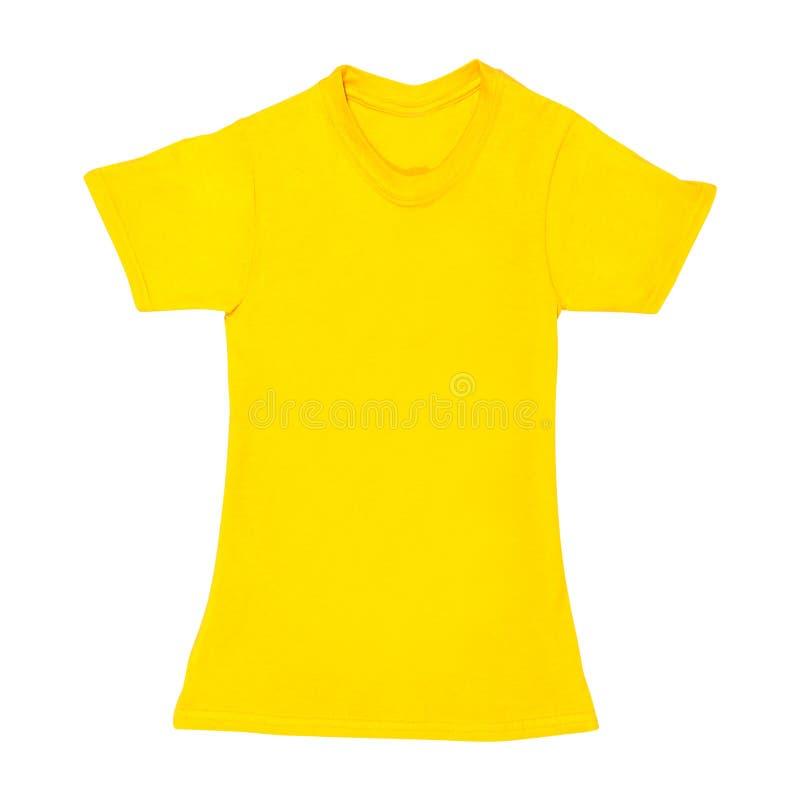 Camicia di polo isolata immagini stock