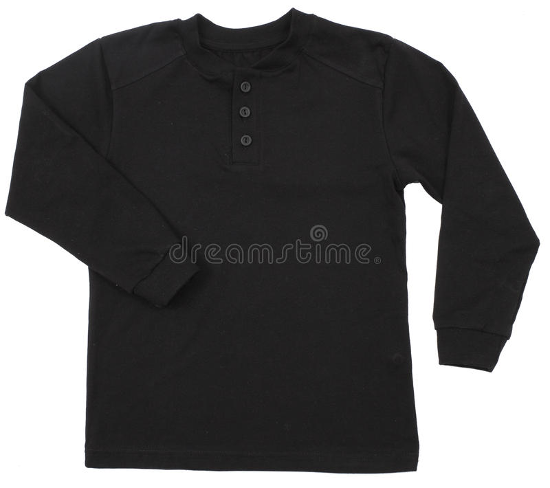Camicia di polo isolata immagine stock