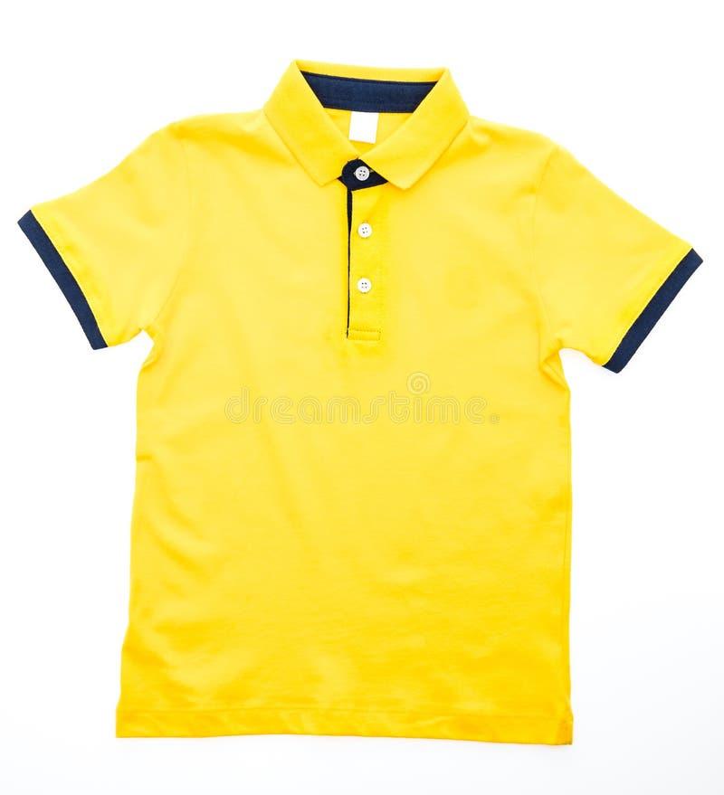 Camicia e vestiti di polo fotografie stock