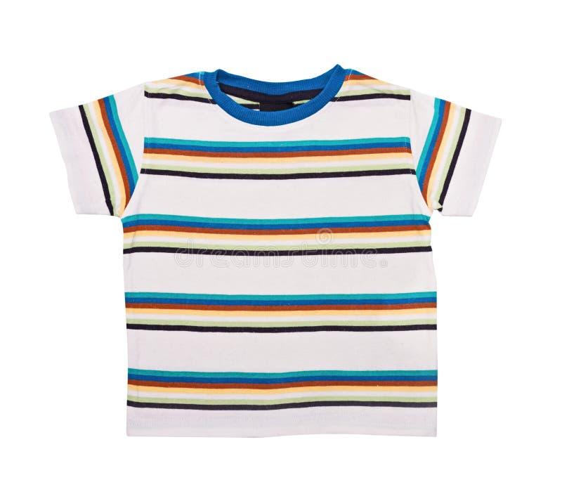 Camicia luminosa con un breve manicotto fotografia stock libera da diritti