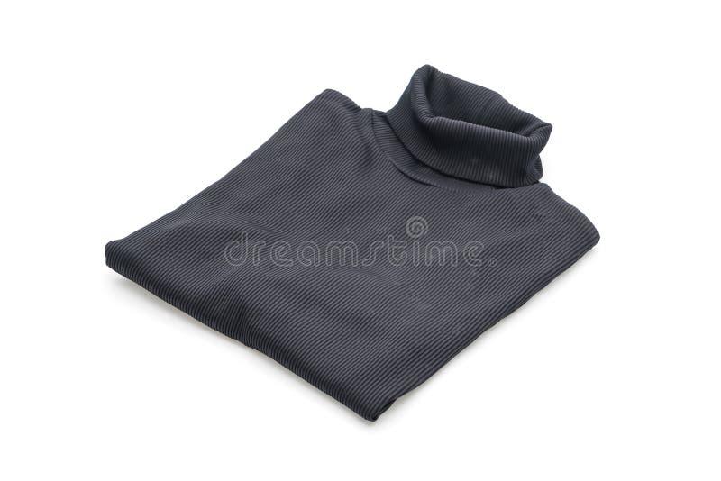 camicia maglietta piegata su bianco immagine stock libera da diritti