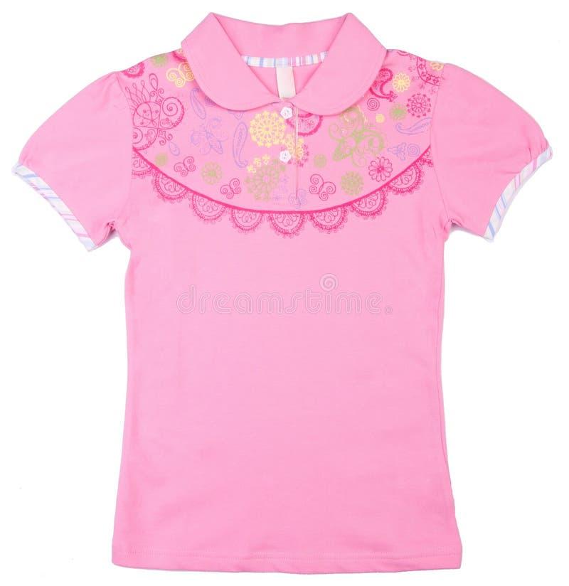 camicia Usura dei bambini fotografia stock