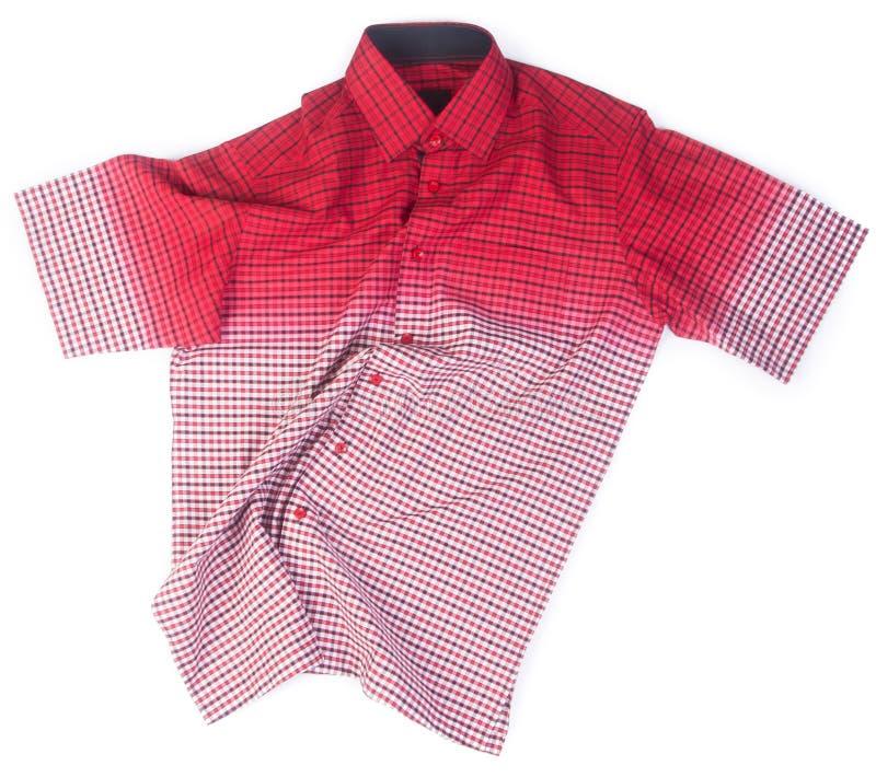 camicie camice di modo degli uomini su fondo fotografie stock libere da diritti