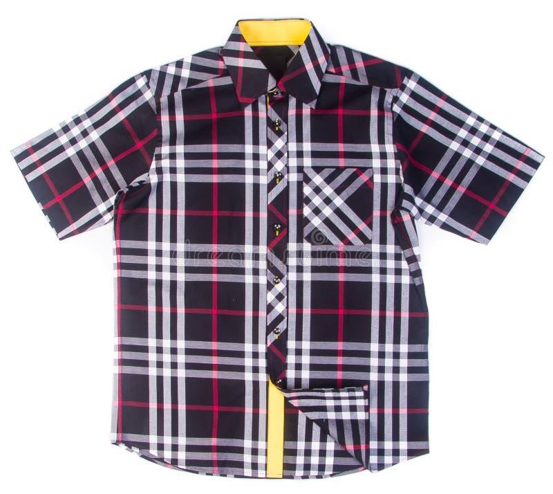 camicie camice di modo degli uomini su fondo fotografia stock libera da diritti