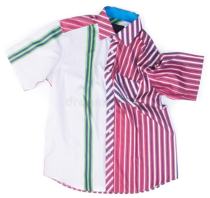camicie camice di modo degli uomini su fondo immagine stock libera da diritti