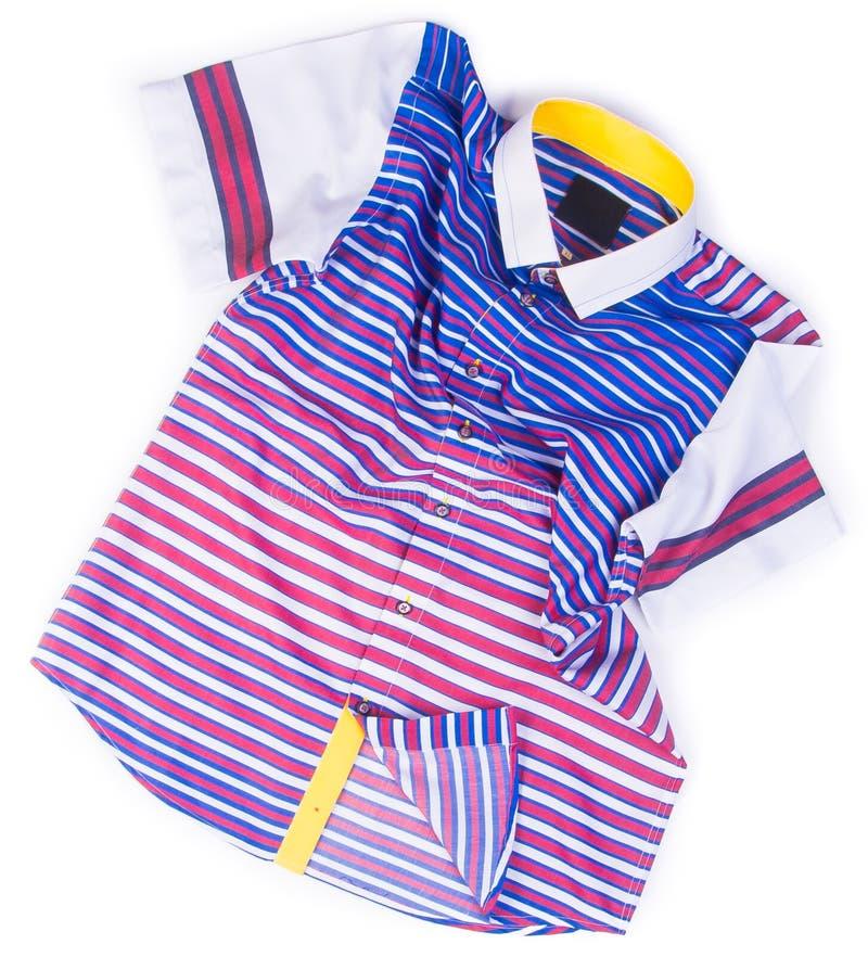 camicie camice di modo degli uomini su fondo immagini stock