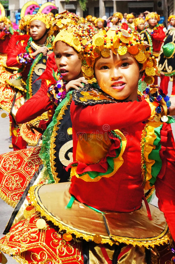 Camiguin Lanzones Festival royalty free stock image