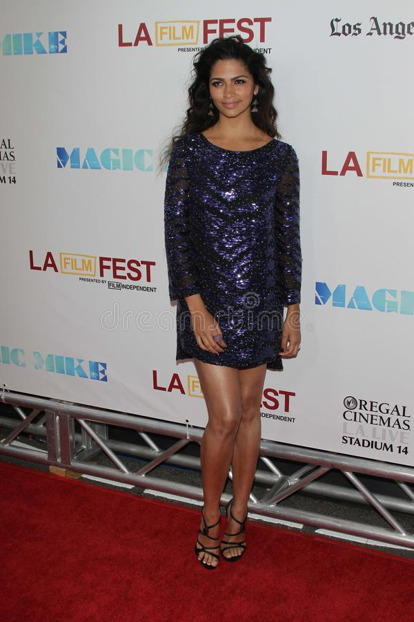 Camila Alves At The Los Angeles Film Festival Closing Night Gala Premiere Editorial Photo