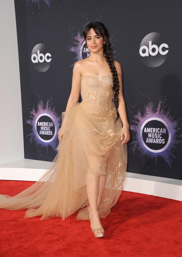 Camila Cabello stock image