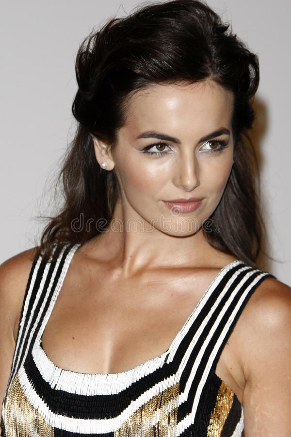 Download Camilla Belle editorial stock photo. Image of gala, arrives - 22765128
